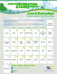 Explore your community and incorporate the word of the day into your activities everyday this June. Take pictures, capture the moment with friends and family and share on Facebook , Instagram or Tweet it to @PROntario with the hash tag #JRPM or #LiveItEveryday.